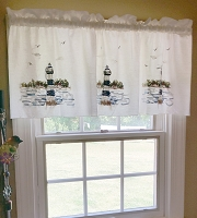 Lighthouse Valance