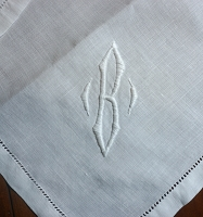 B Monogram Placemat Set