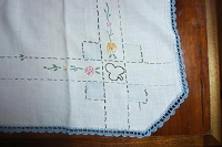 Bridge Card Table Topper