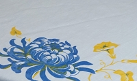 Retro Tablecloth 42x42