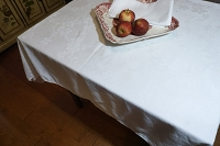 Damask Tablecloth 74 x 56