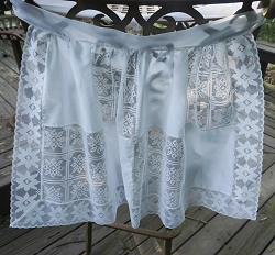 White Lace Apron