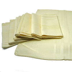 Yellow 1970s Napkins