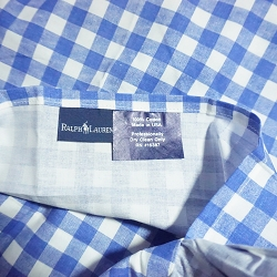 Ralph Lauren Blue Gingham Bedding