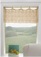 Crochet Envy Medallion VALANCE