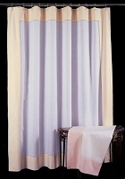 Beatrice Tailored Linen Shower Curtain