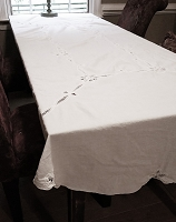 Vintage Battenburg Tablecloth