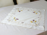 Embroidered Table Topper