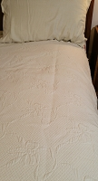 Twin Coverlet in Ivory