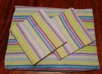 1970's Full Top Sheet - 2 pillowcases