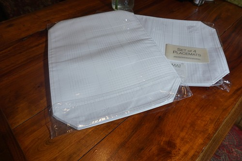 White Placemats (set of 4)