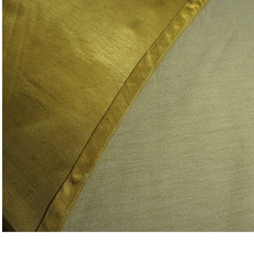 Silky Gold 60in Round Tablecloth
