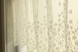 Spring Blossom Curtain Tiers