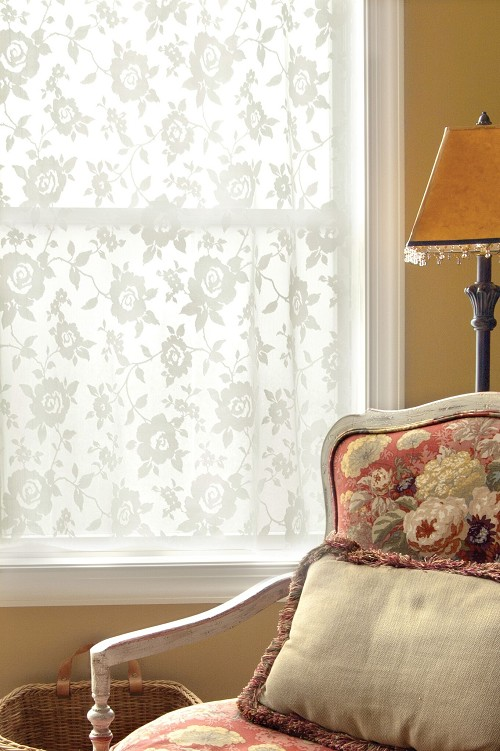 ASHBY ROSE Lace Curtains