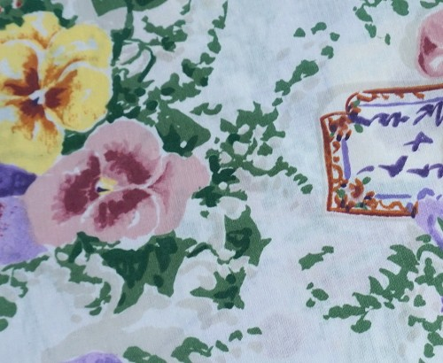 Pansy Dinner Napkins - Set of 4