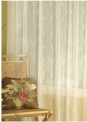 Pineapple Curtain Panel, 3 sizes