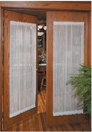 Sheer Divine Lace Door Panel